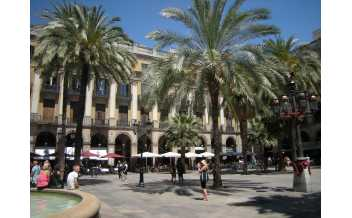 Plaza Real, Barcelona, site of interest, all year