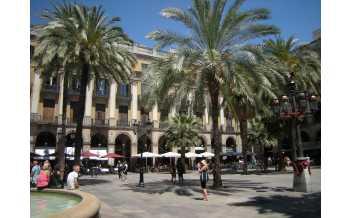 Королевская площадь, Барселона, Испания