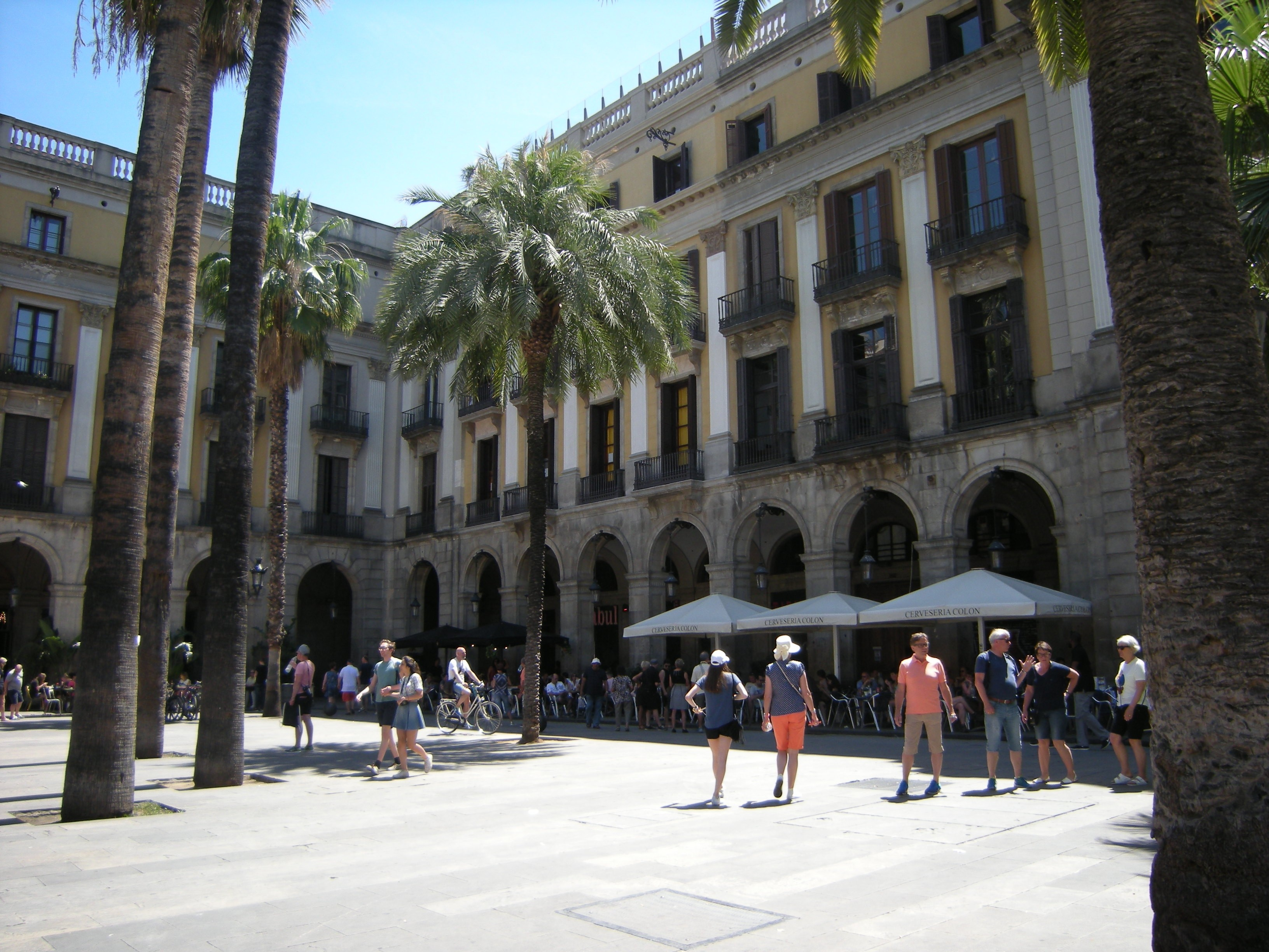 Plaza Real, Site of interest, Barcelona