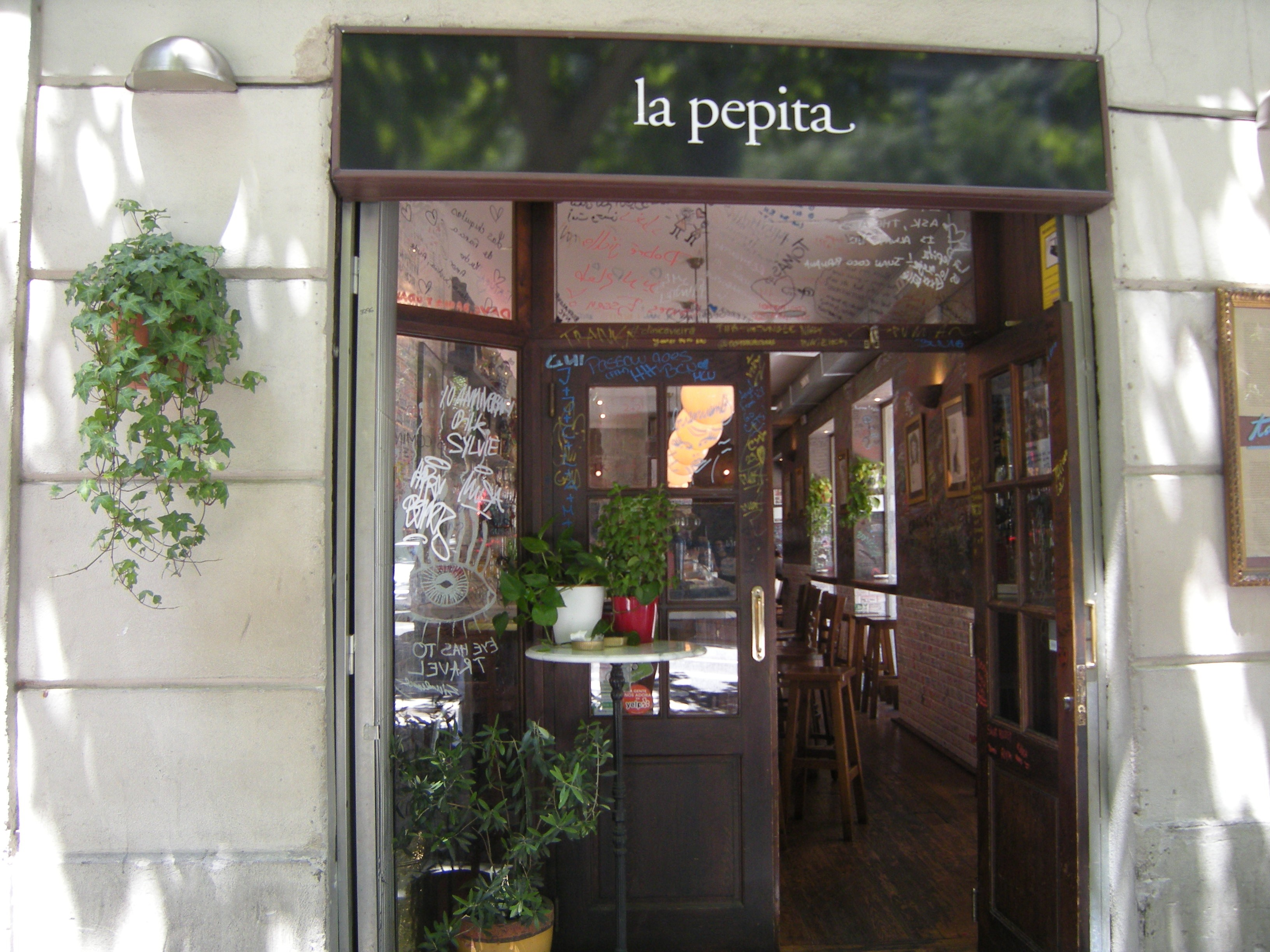 La Pepita, Restaurant, Barcelona