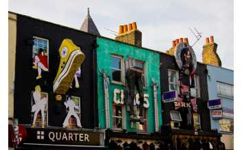 Camden Market, London: All year