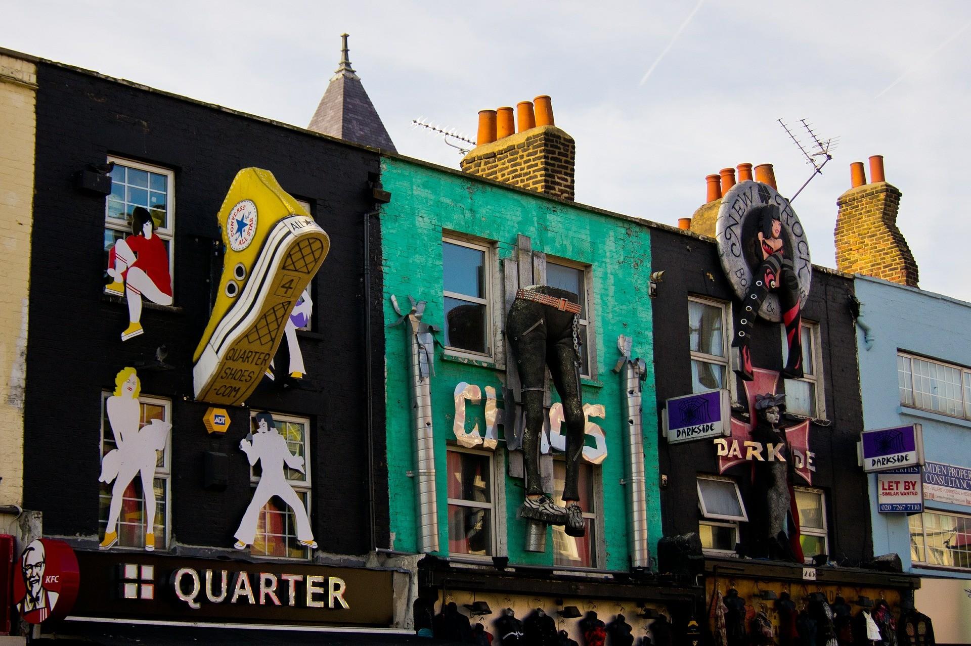 Camden Market, London: All year
