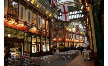 Leadenhall Market, Лондоне