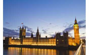 The Houses of Parliament: London