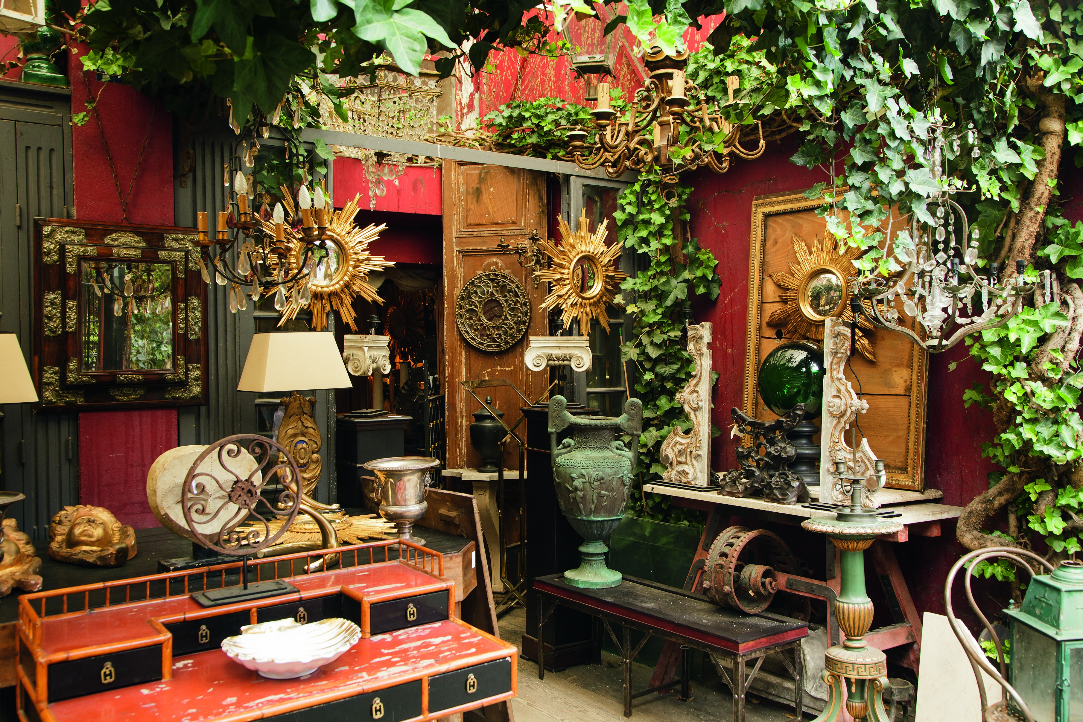 mercado de saint ouen par s. Black Bedroom Furniture Sets. Home Design Ideas