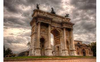 Porta Sempione, Arch of Peace, Milan
