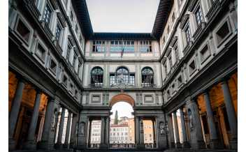 Galerie Uffizi, Florence, Italie