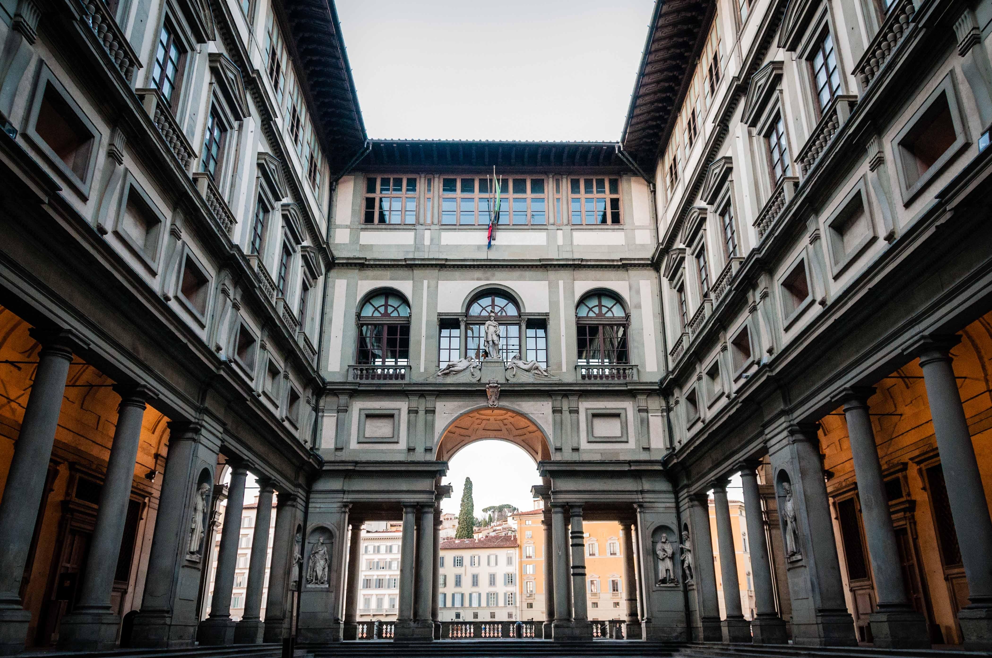 Uffizi Gallery, Florence: All year