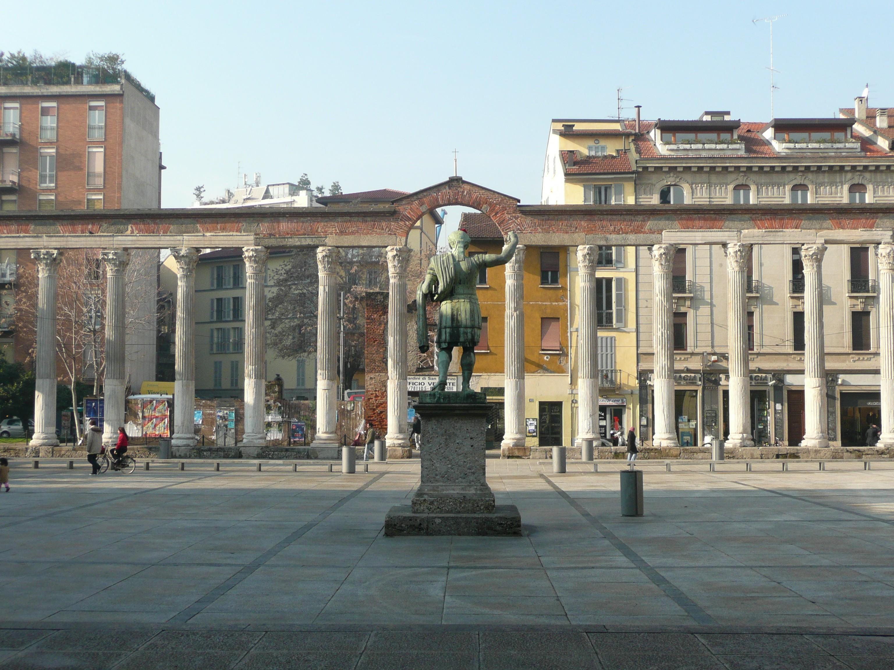 Columns of San Lorenzo, Milan