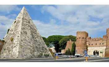 Pyramid of Caius Cestius, Rome