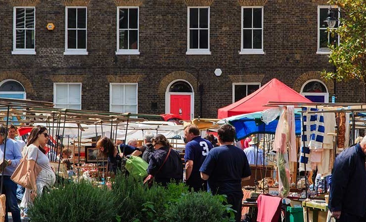 Bermondsey Market, London: Every Friday and Saturday