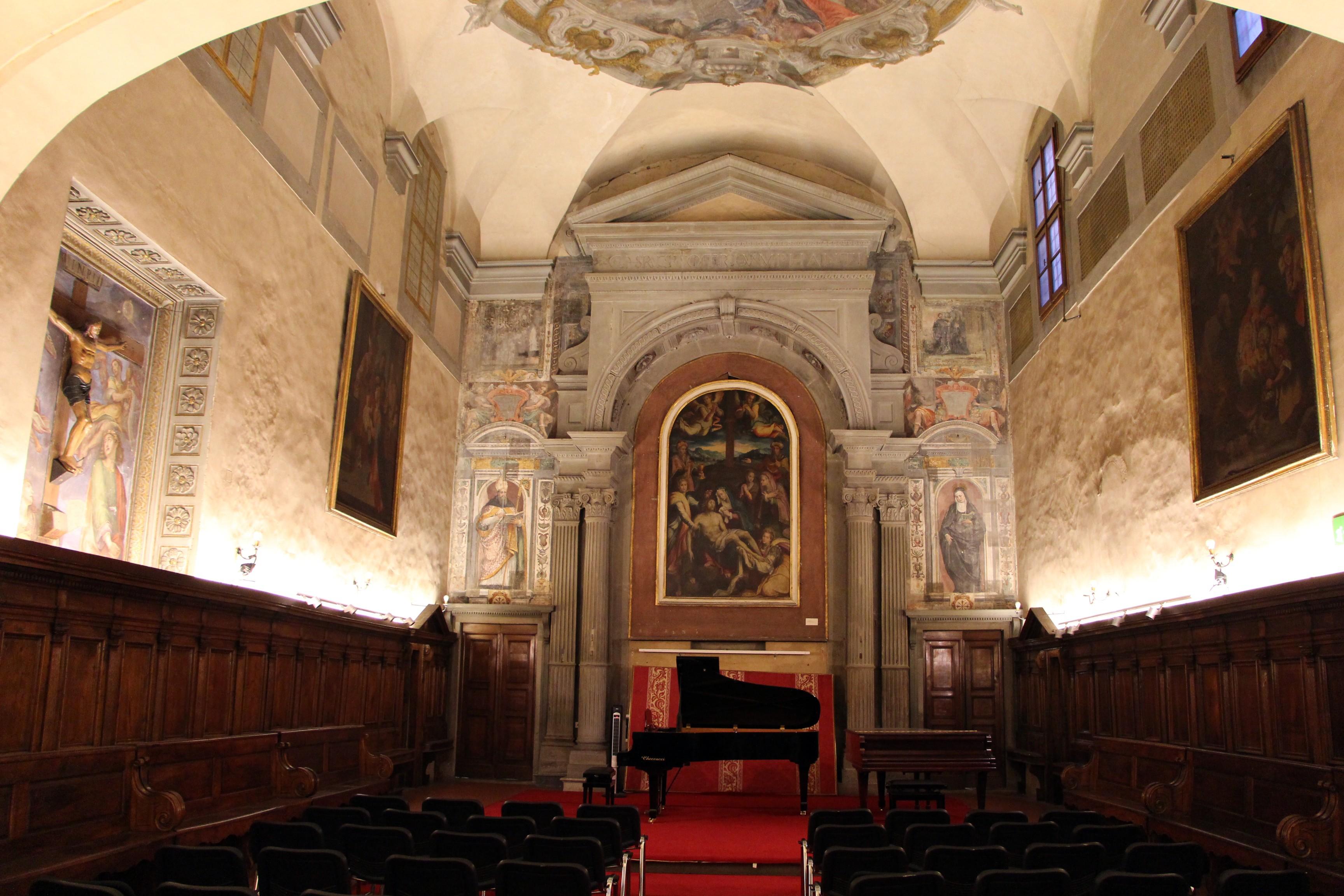 Chiesa di Santa Monaca, Florence: All year