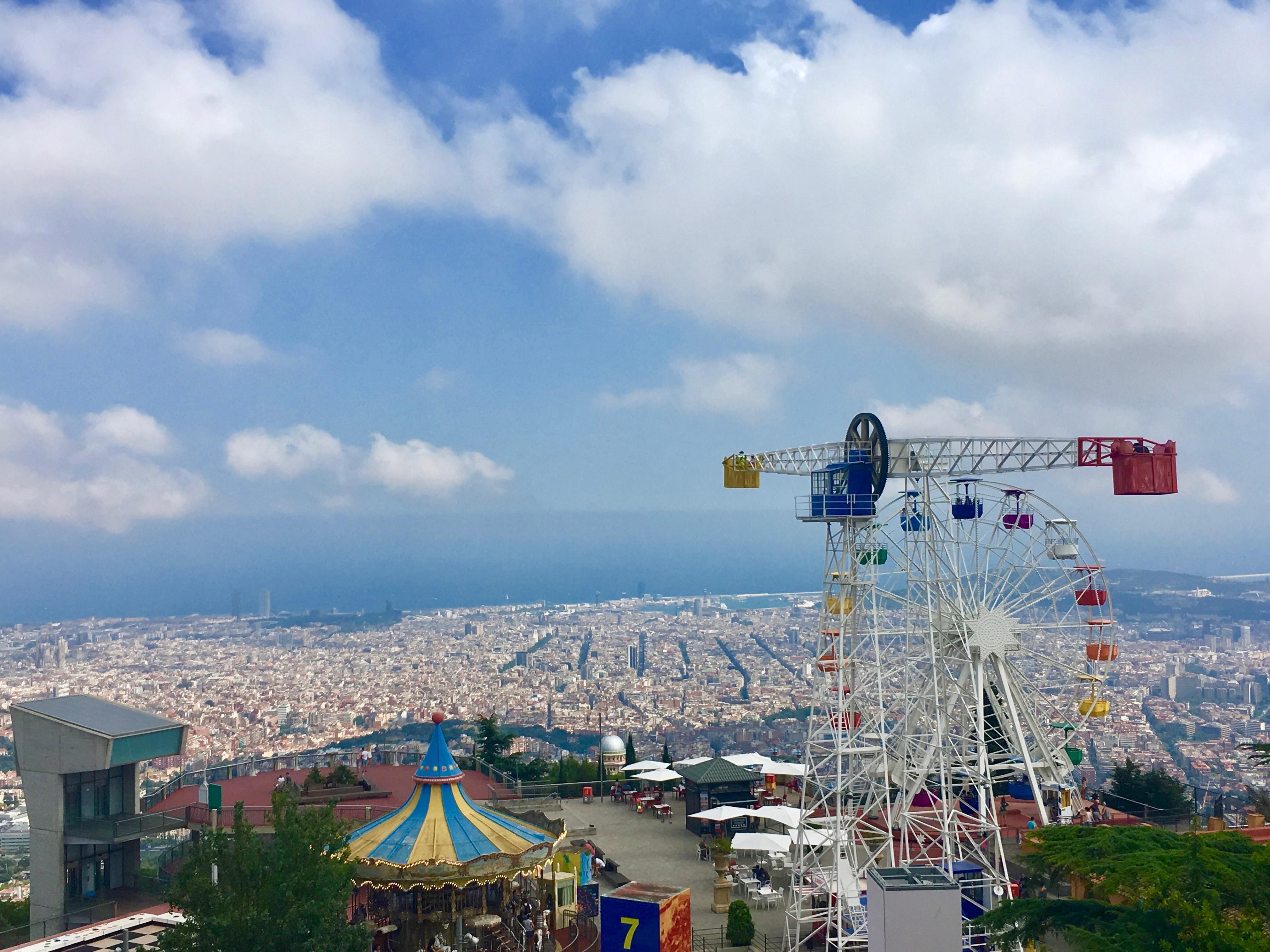 Tibidabo, Theme Park, Barcelona, All Year