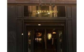 Scotch & Soda, boutique, Spain, Madrid