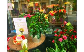 Au Nom de la Rose, Flower shop, Paris