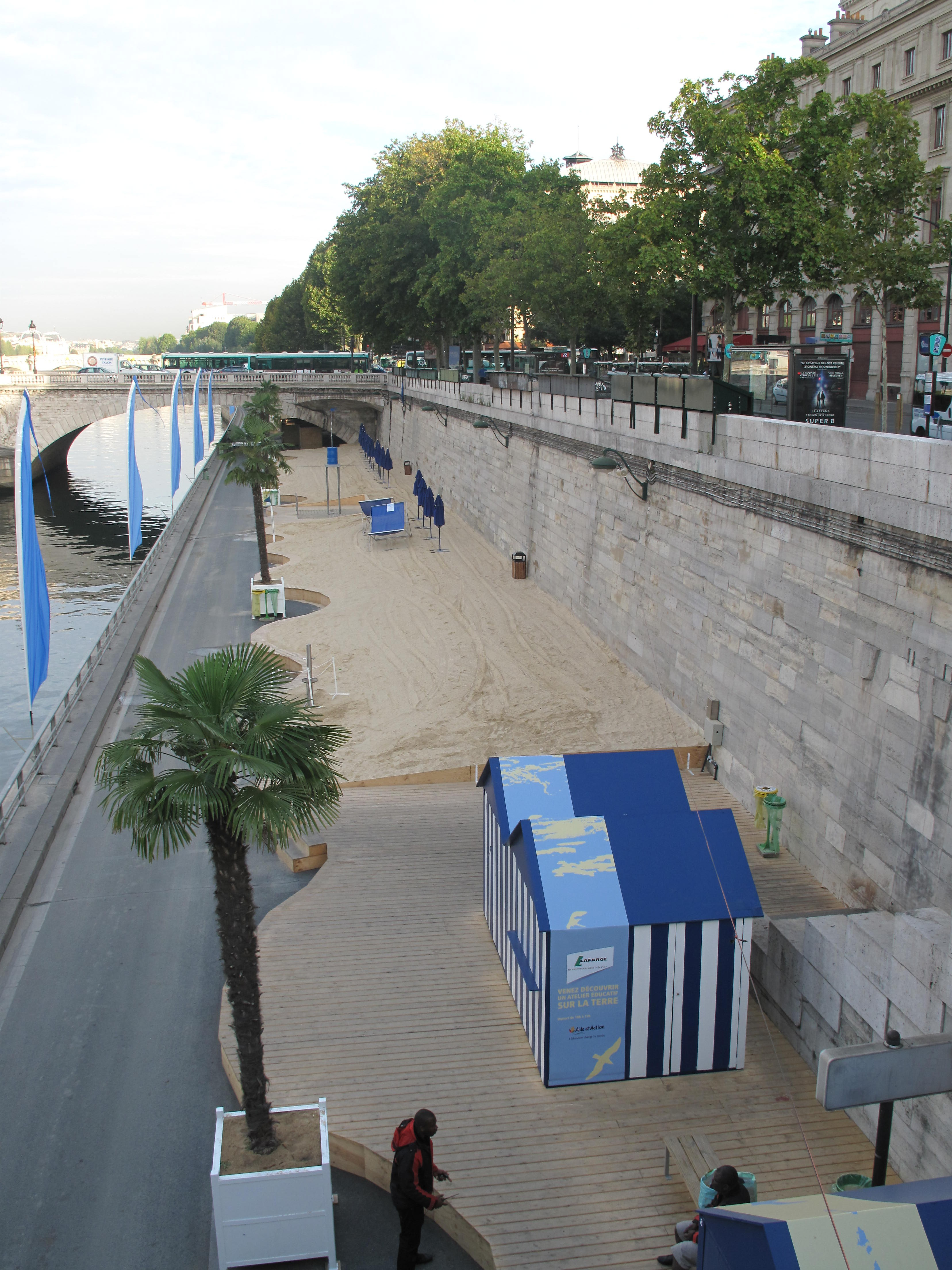 Paris Plages: July - August