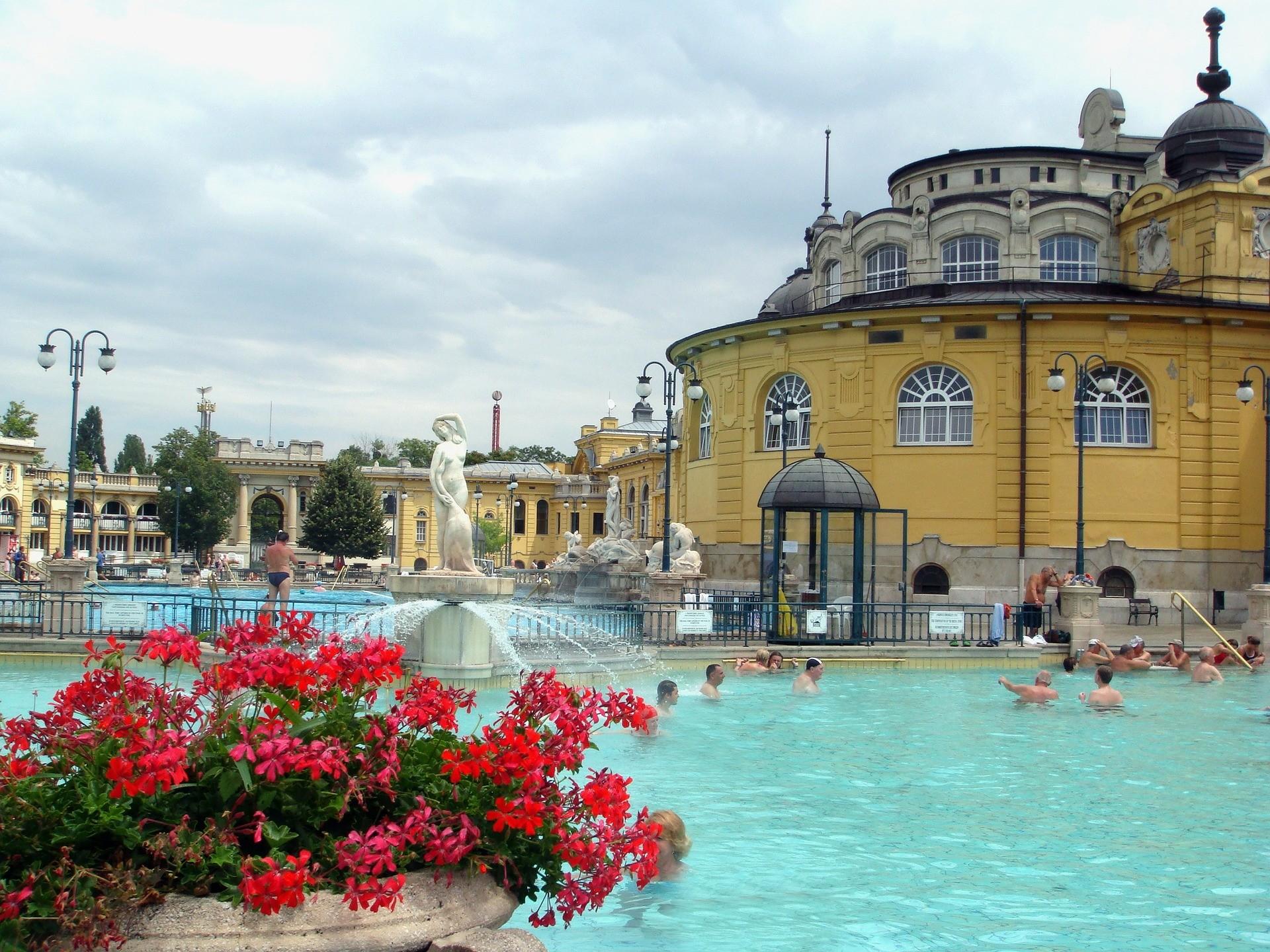 termali Széchenyi, Budapest: Tutto l\'anno