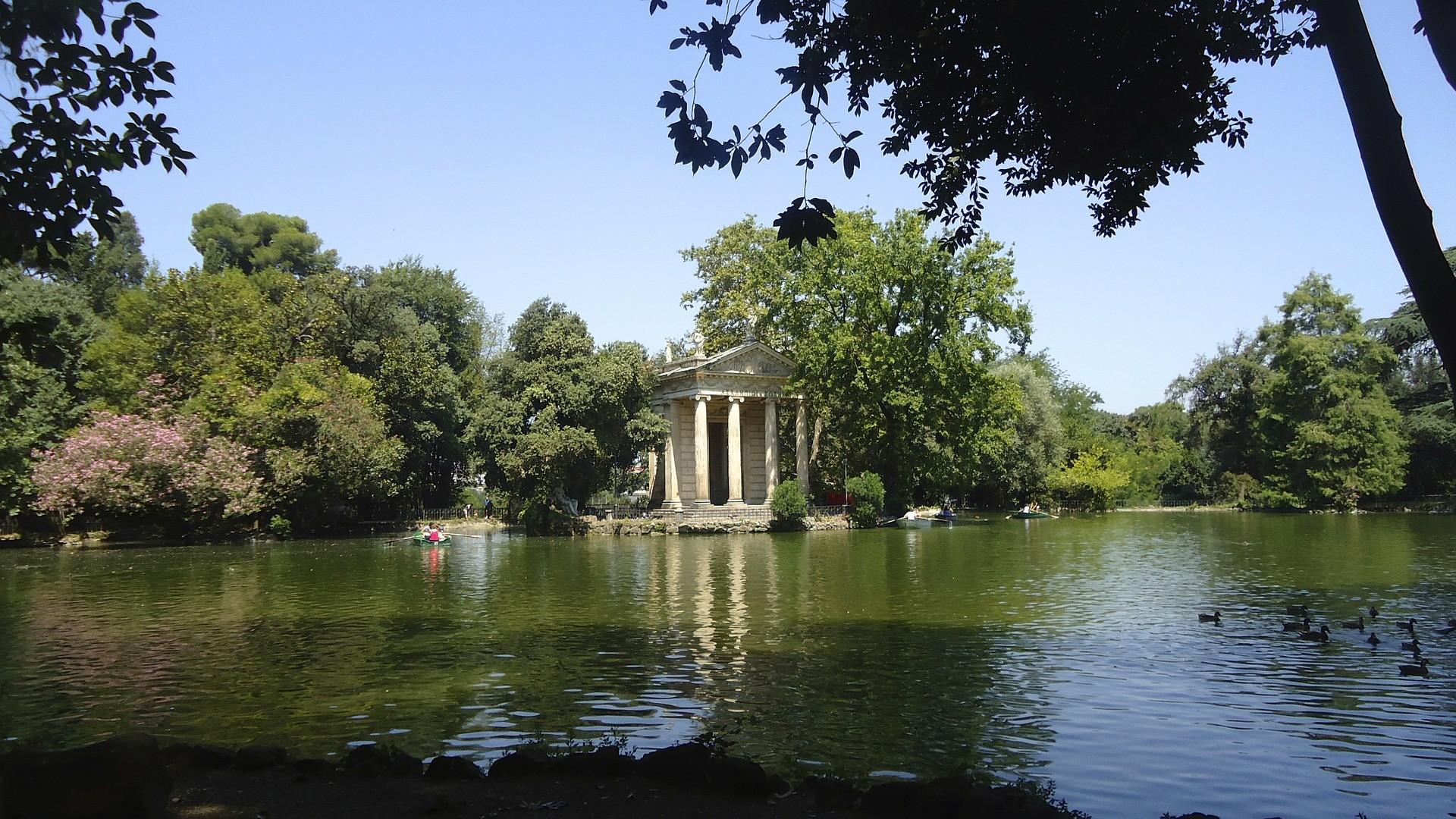 Галерея (Вилла) Боргезе. Рим