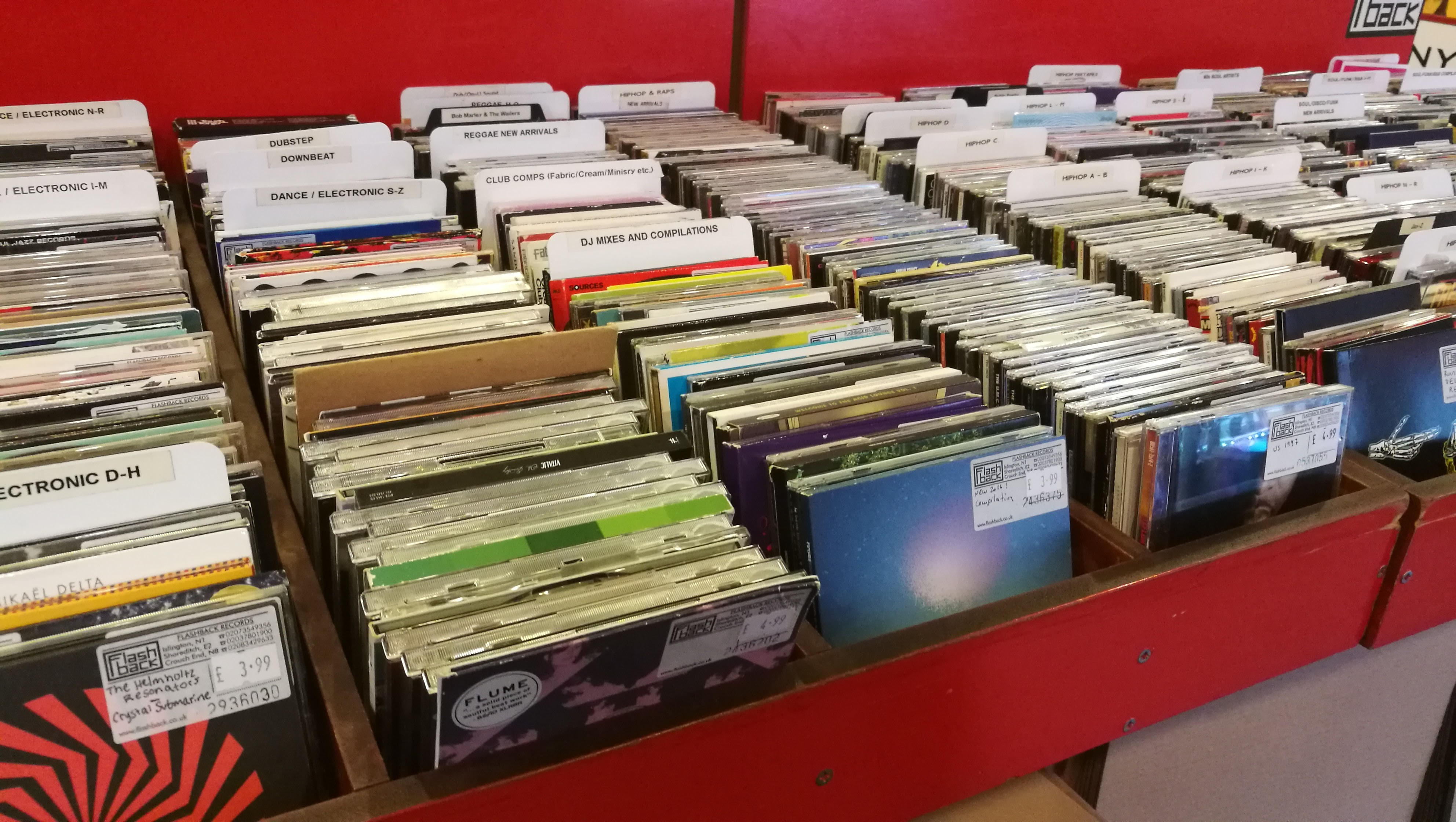 Flashback Records, Islington, London