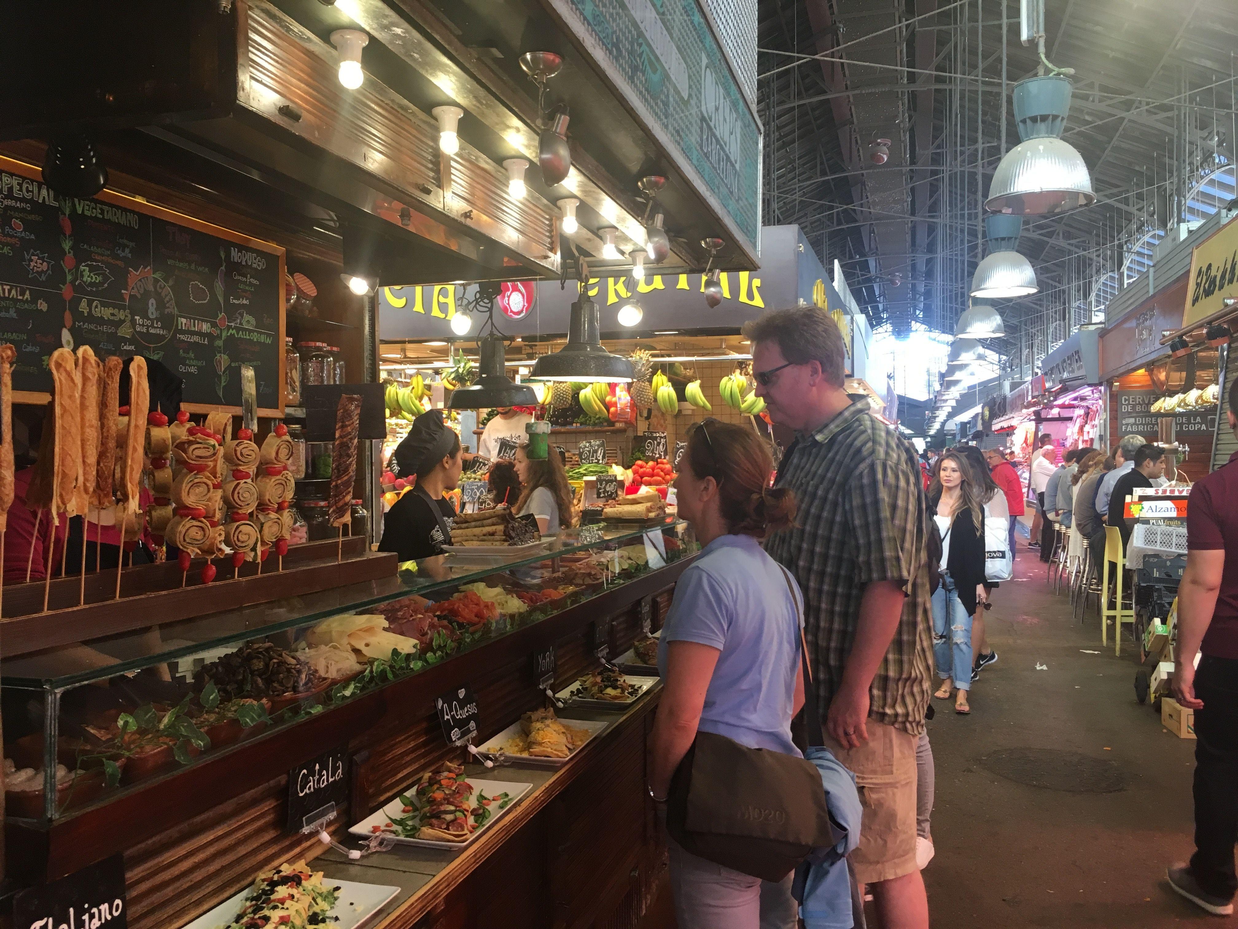 La Boqueria, Food Market, Barcelona