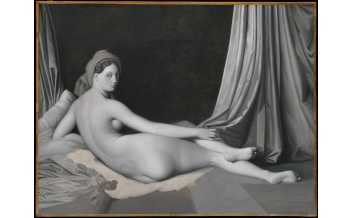 Odalisque in Grisaille Jean-Auguste-Dominique Ingres and workshop about 1824-34, © The Metropolitan Museum of Art / Art Resource