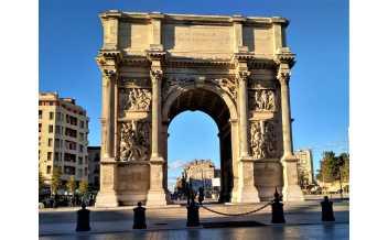 Porte d'Aix, Triumphal Arch, Marseille
