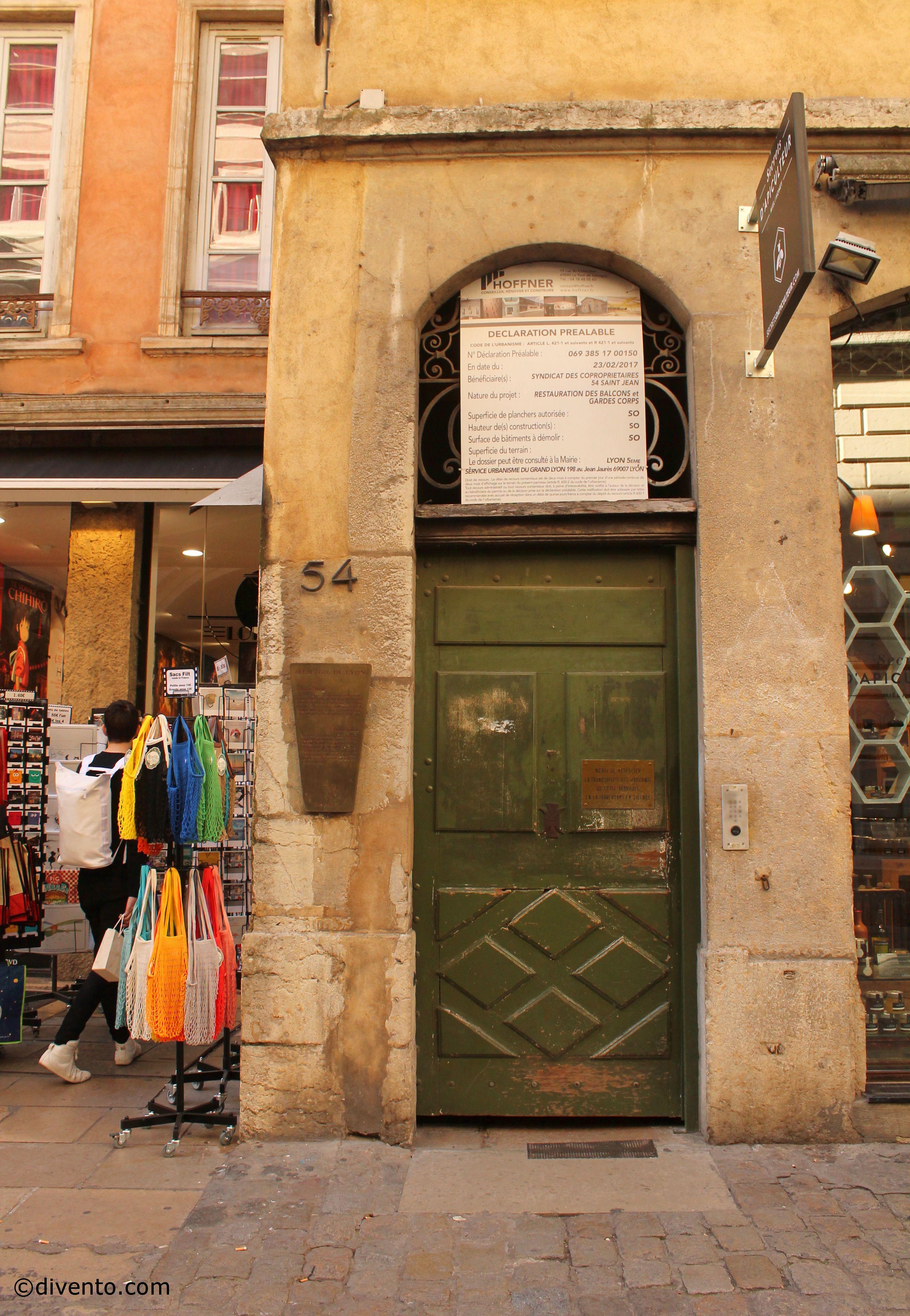 Traboules, Lyon