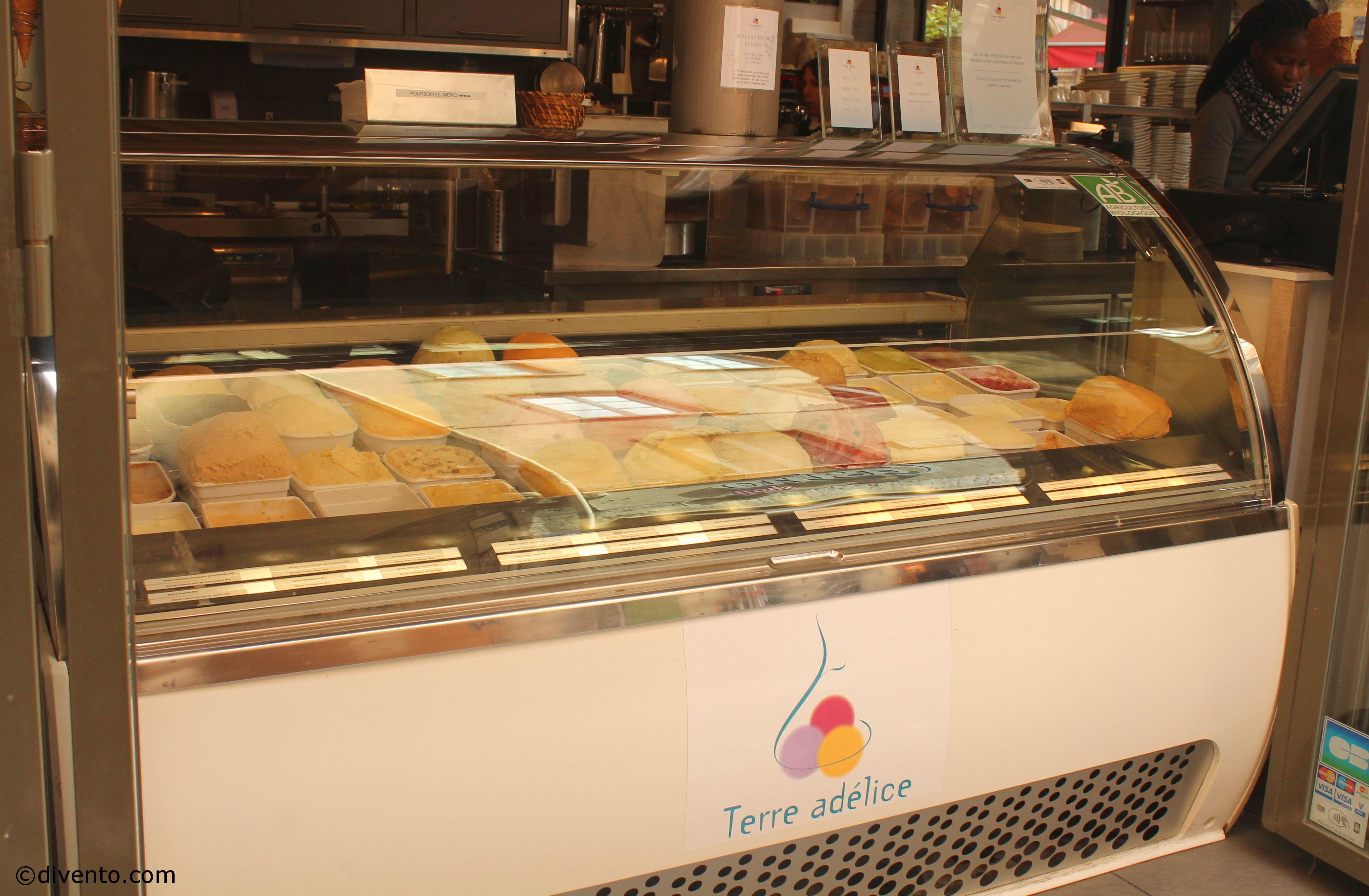 Terre Adélice ice cream, Lyon
