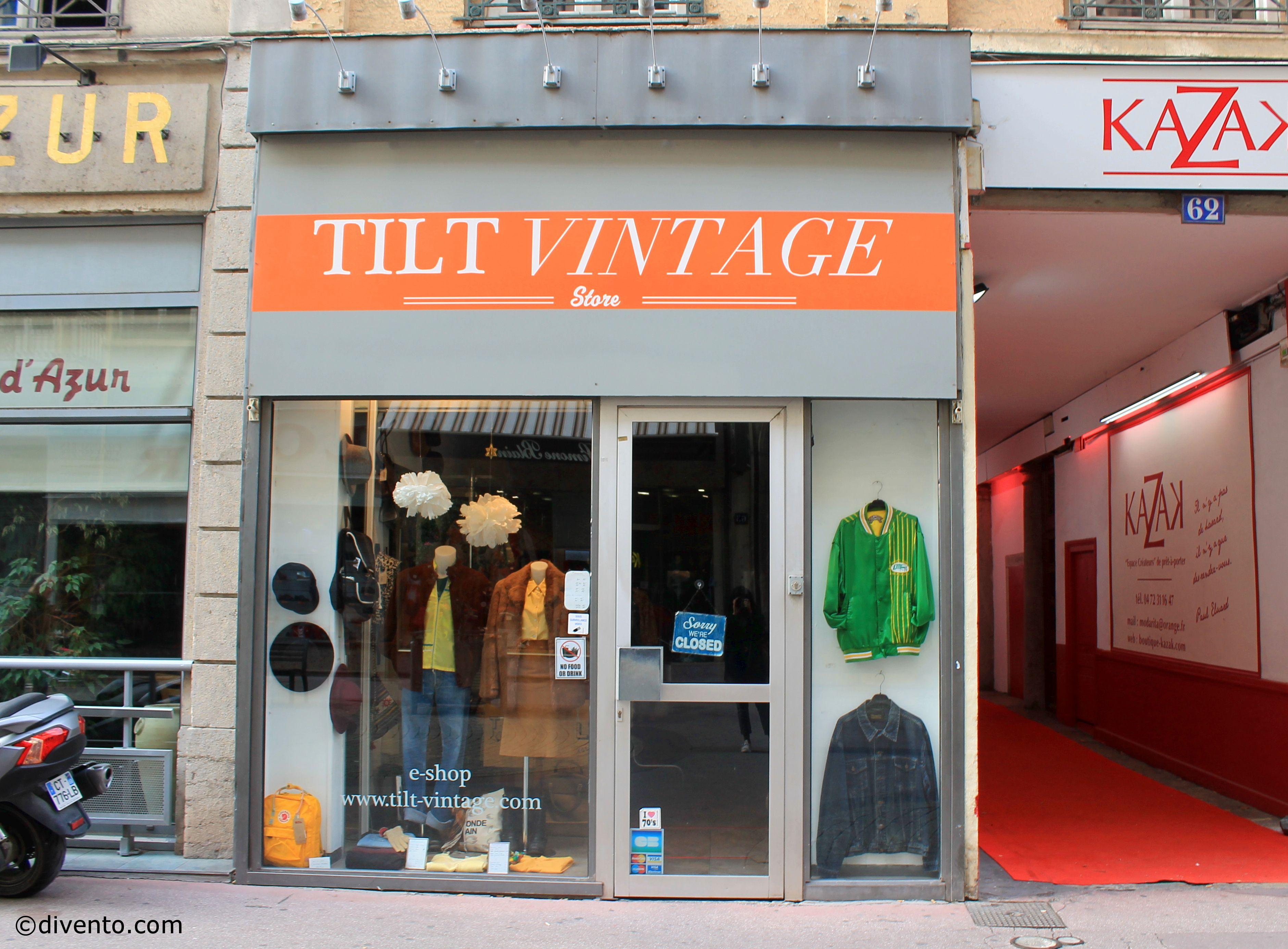 TILT Vintage boutique, Lyon