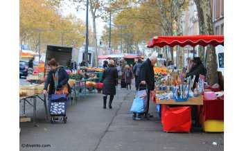 La Croix-Rousse Market, Lyon