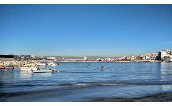 Plage de la Pointe Rouge, Marseille
