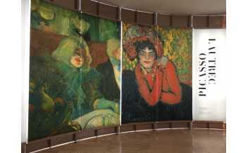 The Prado Musuem, Madrid: Picasso Lautrec exhibition: 17 October 2017 – 21 January 2018
