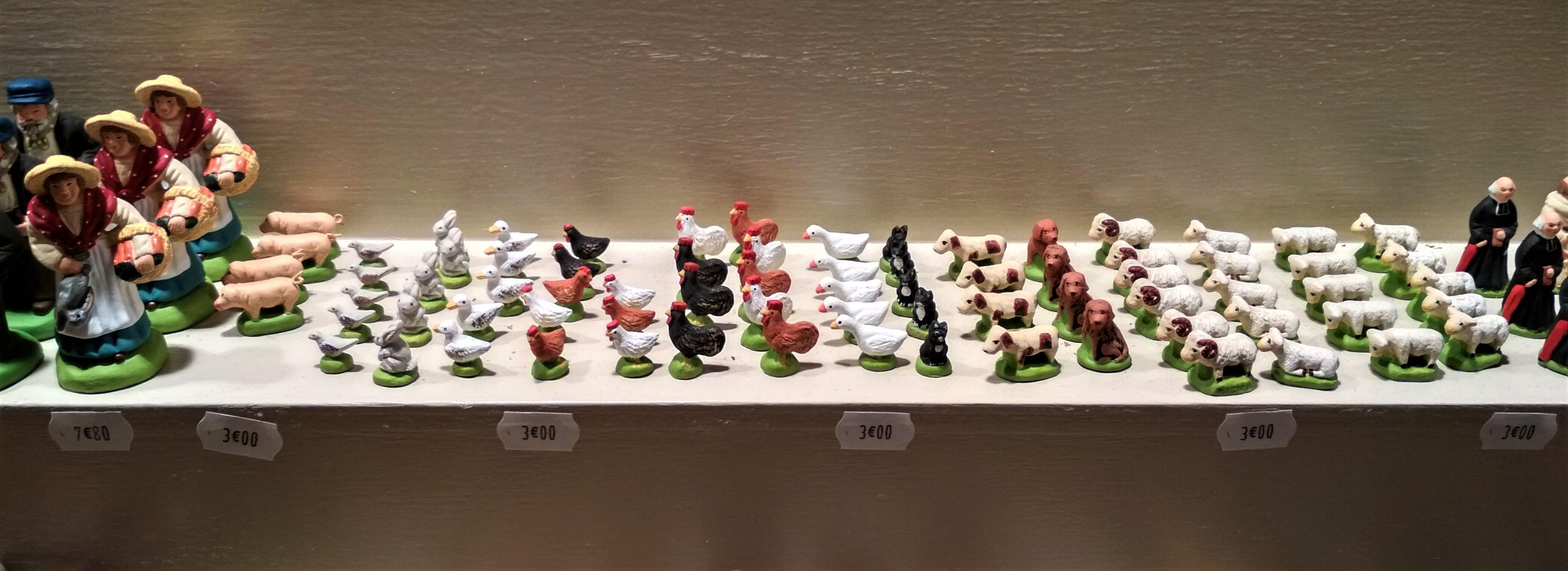 Foire aux Santons, Christmas market, Marseille: 18 November-31 December 2017