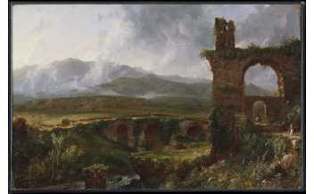 Thomas Cole A View near Tivoli (Morning), 1832 Oil on canvas 37.5 x 58.7 cm The Metropolitan Museum of Art, New York, Rogers Fund, 1903 (03.27) © The Metropolitan Museum of Art, New York