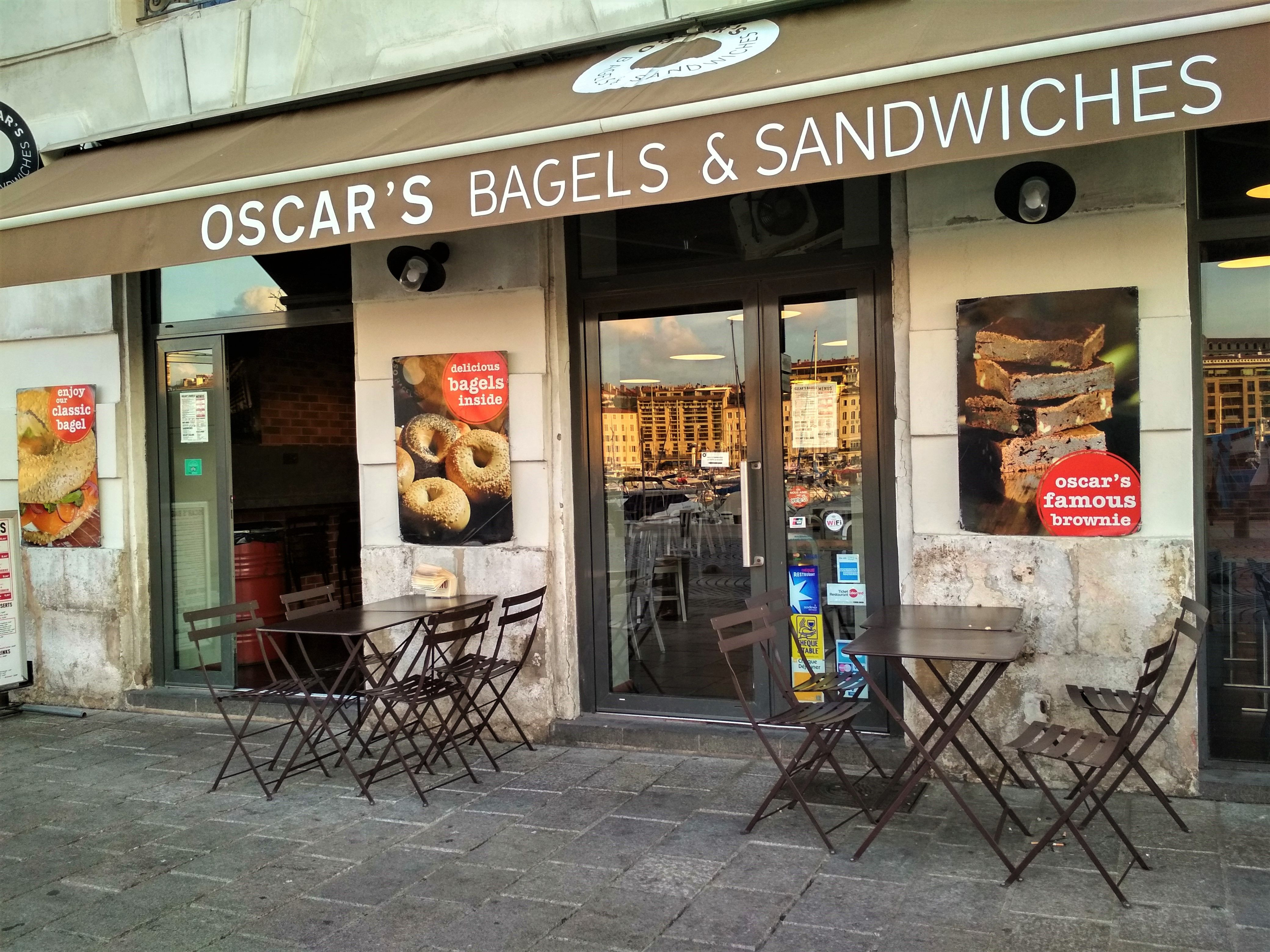 Oscar's Bagels and Sandwiches, Marseille