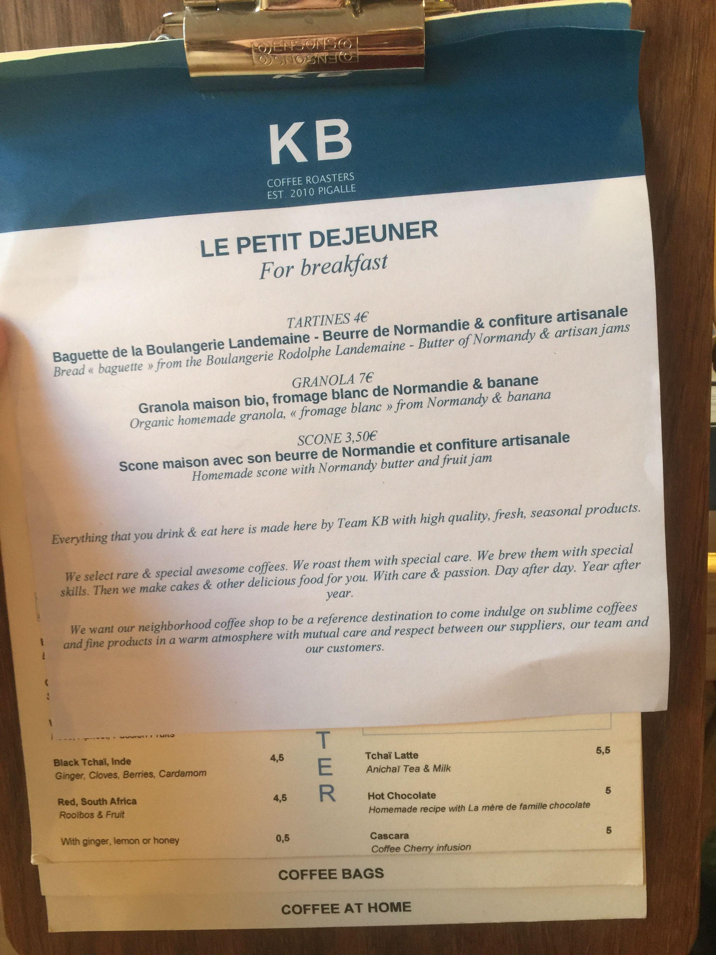 KB Caféshop, Paris, All Year