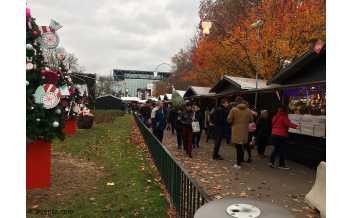 Christmas Market, Place Carnot, Lyon