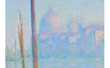 Le Grand Canal, Claude Monet, 1908 © National Gallery, Londres,