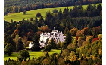 Blair Castle, Blair Atholl, Pitlochry, Scotland