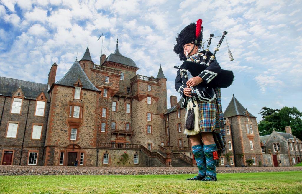 Thirlestane Castle, Lauder, Berwickshire, Scotland