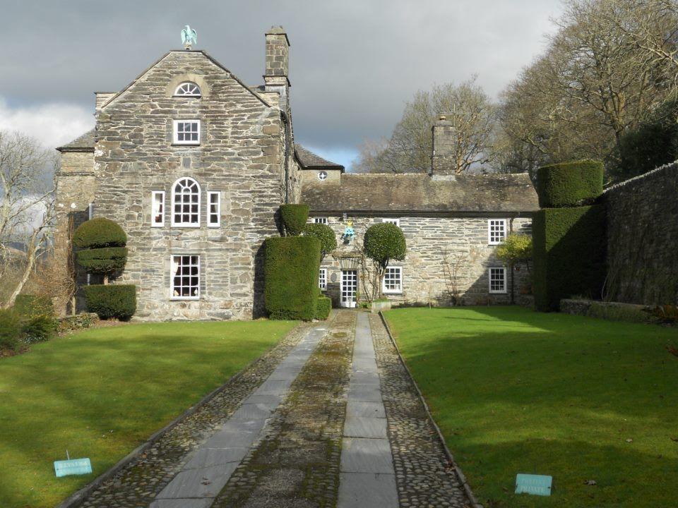 Plas Brondanw Gardens & Museum, Llanfrothen, near Penrhyndendraeth, Wales