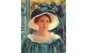 Young Lady in Green, Outside in the Sun, Marie Cassatt © Musée Jacquemart-André