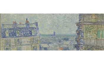 Vue de l'Appartement de Théo, Vincent Van Gogh © Van Gogh Museum