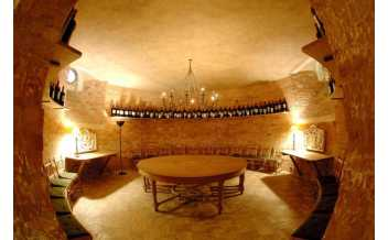 WineCellars Tasting Room. National Trust, Waddesdon Manor / Nigel Harper