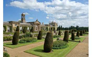 Sculpture gallery at Bowood