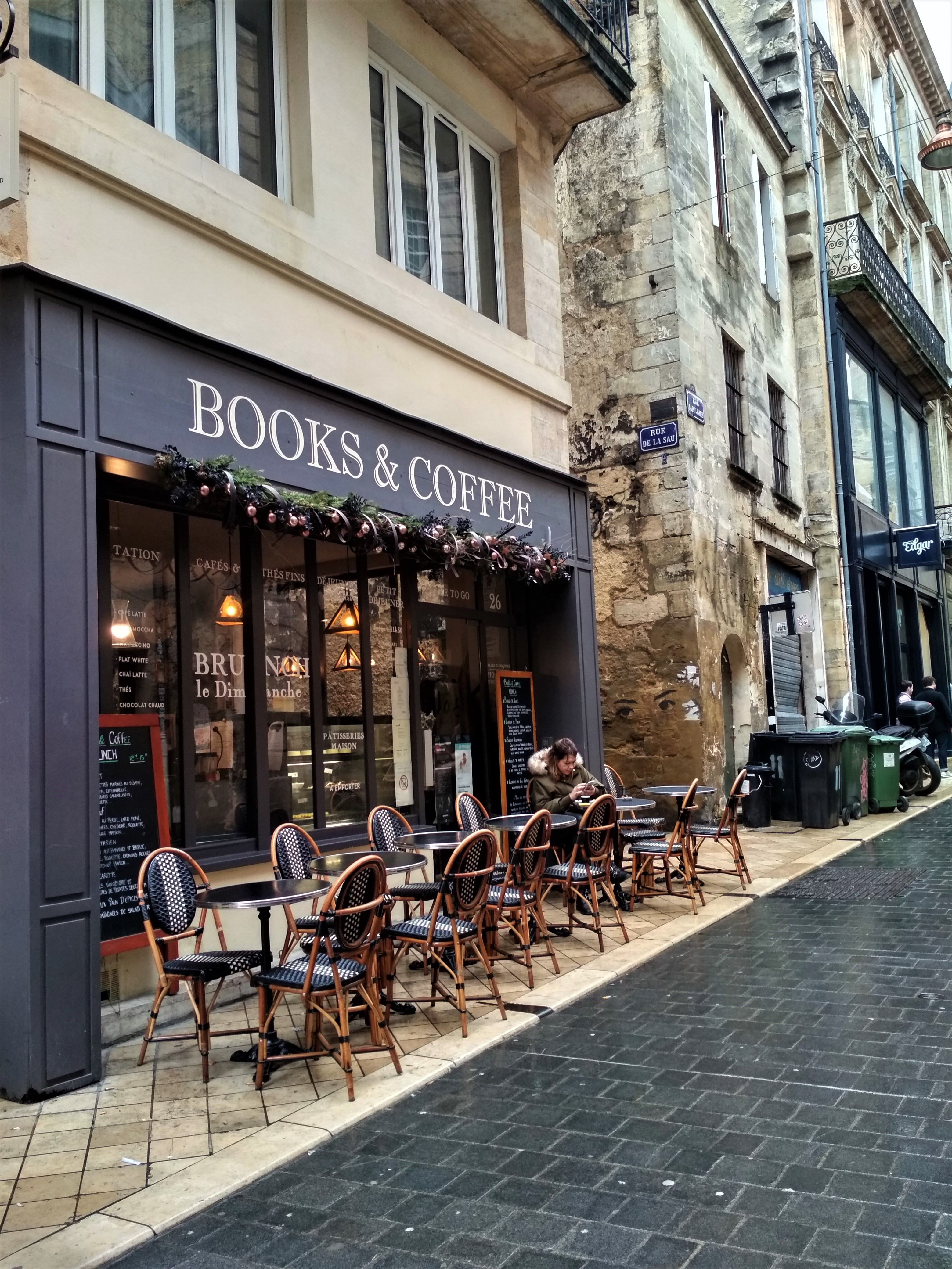 Books & Coffee, Café, Bordeaux