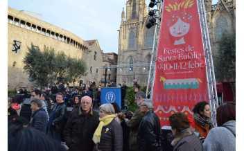 Les Festes de Santa Eulália, Barcelona: every year on days around 12th February