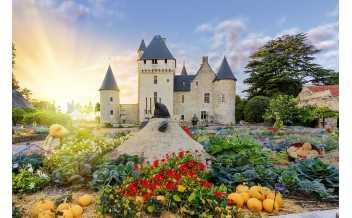 Rivau Castle, Lémeré, Indre-et-Loire, France