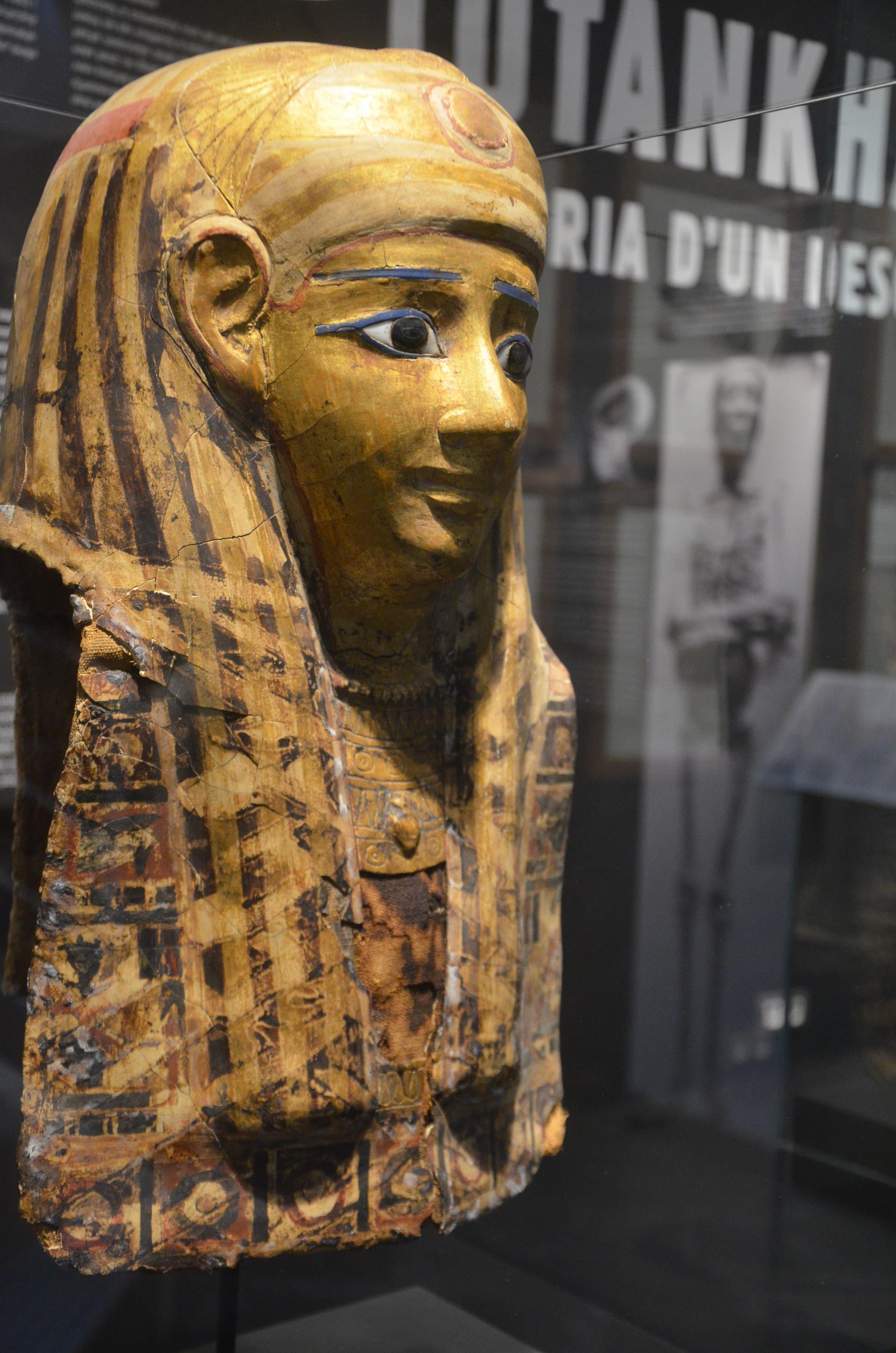 Tutankhamun, The Story of a Discovery, Exhibition, Museu Egipci, Barcelona