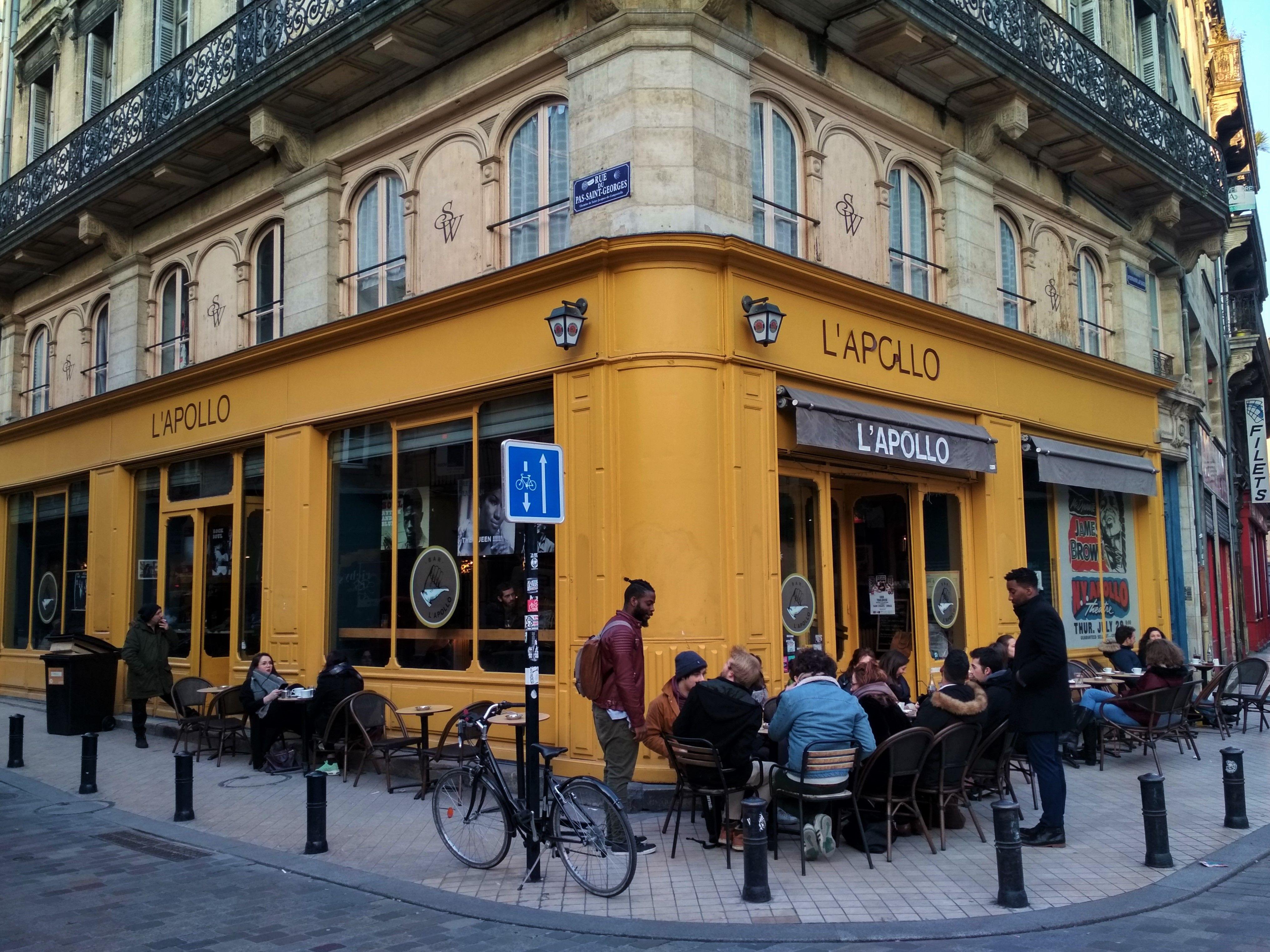 L'Apollo, Bar, Bordeaux